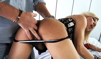 Have sex tom moore Lusty TS Victoria getting her tight wet analy banged.